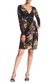 Long Sleeve Julian Wrap Dress
