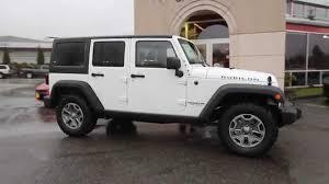 jeep wrangler 2015 white. 2015 jeep wrangler unlimited rubicon white fl546680 everett snohomish youtube