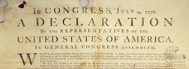 Image result for thomas jefferson declaration of independence