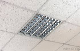 a suspended ceiling can be used to hide pipes ducts and electrical wiring
