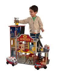 Набор <b>Пожарно</b>-<b>Спасательная станция</b> Делюкс <b>KidKraft</b> 6707241 ...