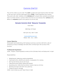 Cover Letter Cook Resume Templates Cook Resume Templates Line