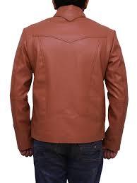biker jacket brown jacket leather jacket