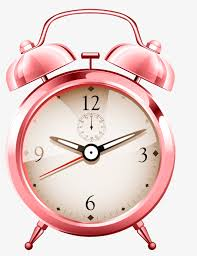 a pink alarm clock clock clipart one pink png image and clipart