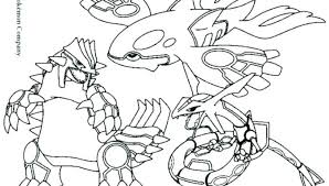 Kyogre Coloring Pages Sharpballco