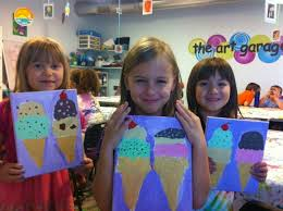 canvas painting austin tx kids events