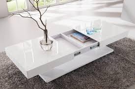 Ovale Bleu Table Basse Design Pas Cher Verre Aspect Bois