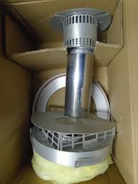 details about new hedvrt vent termination for round flue w adapter for 380idv fireplace insert
