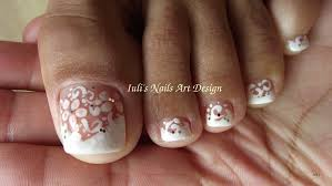 Toe nail designs french pedicure ~ Beautify themselves with sweet ...