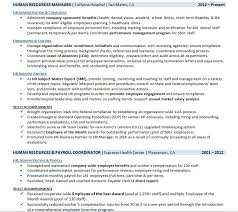 Achievements On A Resumes Resume Employment History Samples That Get Interviews Career Sidekick