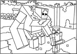 Minecraft Free Printable Coloring Pages For Kids