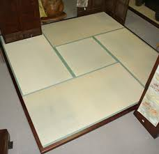 Japanese tatami bed Platform Tatami Are Traditional Japanese Floor Mats They Are Made By Covering Rice Straw With Woven Sea Rush Tatami Are Made In Individual Mats Of Uniform Size Mherger Furniture Japanese Tatami Goza Mats