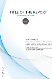 Download Cover Page Templates For Ms Word In 2019 Cover