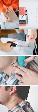 how to make a homemade temporary tattoo