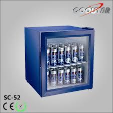 china beverage cooler countertop mini fridge with glass door sc 52 china refrigerator cooler
