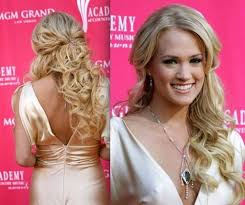 Prom Hairstyles For Thick Hair Prom Hairstyles Down For Long Hair All Hair Style For Womens