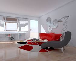 Small Picture 28 Red and White Living Rooms