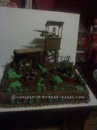 Coolest Call Duty Cake