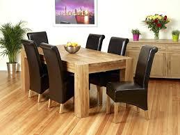 Green Formal Dining Room Dark Brown Finish Solid Wood Long Table Solid Wood Formal Dining Room Sets