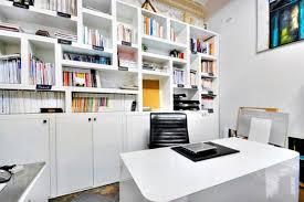 white office design. Beautiful White Modern Home Office Design And White Office Design E
