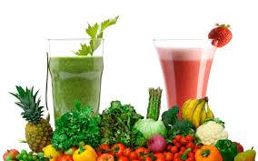 Fruit en groente smoothies