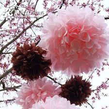 Crepe Paper Flower Balls 1pcs 12 Inch 30cm Tissue Crepe Paper Pom Poms Artificials