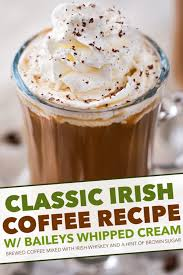 Each 200ml can carries an rsp of £1.90 (us$2.30) and will be sold in. Irish Coffee With Boozy Whipped Cream The Chunky Chef