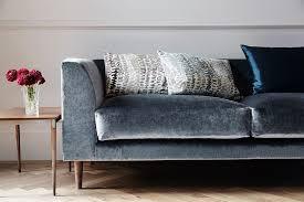 contemporary sofa upholstery re upholstery fabric grey velvet