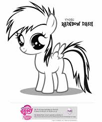 Small Picture Colouring Pages Dash Coloring Pages Best For Kids Little Pony
