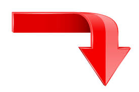 828 Red Arrow Pointing Down Illustrations & Clip Art - iStock