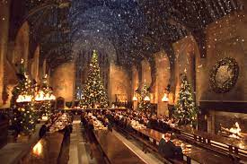 Hogwarts christmas, Harry potter ...