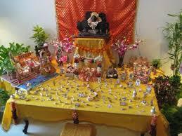 sri krishna janmashtami temple decorations ideas with lighting for