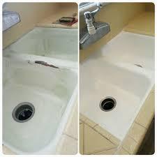 best 25 bathtub reglazing ideas on makeover extraordinary reglaze kitchen sink