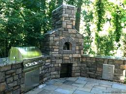 outdoor chimney fireplace outdoor fireplace kitchen outdoor fireplaces outside fireplace chimney height