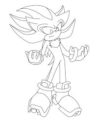 Shadow The Hedgehog 25th Desenhos Do