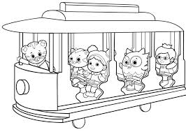 Coloring Pages Printables Vfbi Daniel Tiger Coloring Pages Best
