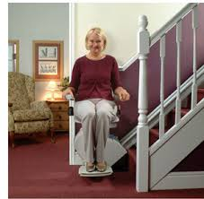 ACORN Stairlifts installed in your home a gliding stairway chair