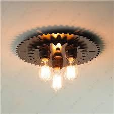 unique lighting fixtures cheap. vintage loft steampunk punk unique metal iron ceiling lights lamps home decor bar counter light fixtures lighting cheap t
