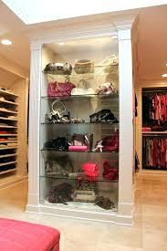 closetmaid shoe rack bracket purse display closet traditional with luxury racks and cabinets