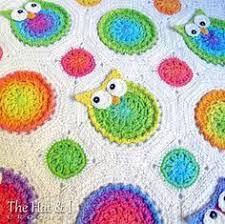 Crochet Owl Blanket Pattern Free Fascinating Owl Granny Square Afghan Pattern Free Crochet Blankets