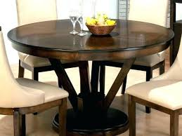 42 round wood pedestal dining table glass inch square impressive designs of tables kitchen marvelous oak