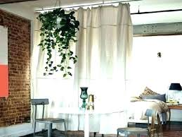 Hanging Fabric Panel Room Divider Fabric Wall Dividers Cloth Room Divider S  Hanging Make Screen Black