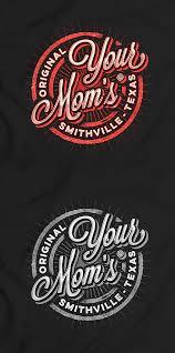 T0shirt Design Your Moms Restaurant Vintage T Shirt Design By Adv