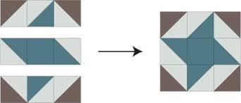 Friendship Star Quilt Block Pattern with Extra Triangles & Assemble the Friendship Star Quilt Block Adamdwight.com