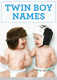 unique baby names for twin boys that