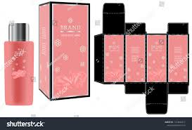 Luxury Cosmetic Packaging Design Packaging Design Label On Cosmetic Container Stock Vector