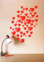 heart wall decor paper heart wall decorations large heart shaped wall decor heart wall