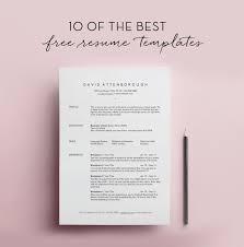 Free Fancy Resume Templates Sarahepps Com