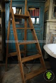 antique wooden steps display purposes only