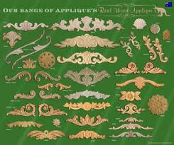 wooden appliques for furniture. architectural furniture applique or onlay shabby french chic real wood 0049 ebay dream home pinterest and wooden appliques for q